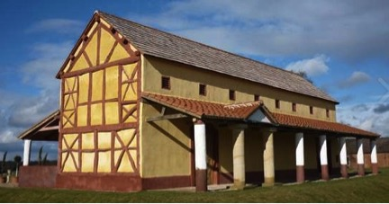 Reconstruction of Wroxeter villa