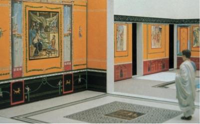 View from tablinum into atrium