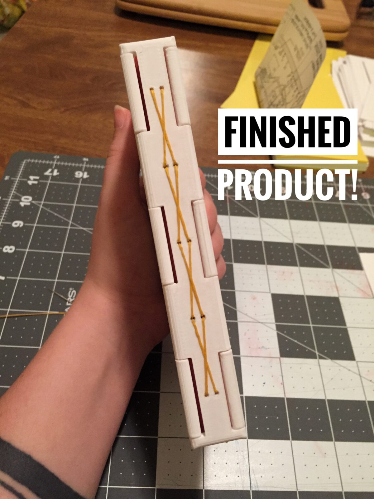 Perfect Binding, Long-Stitch Binding & 3D-printed book components